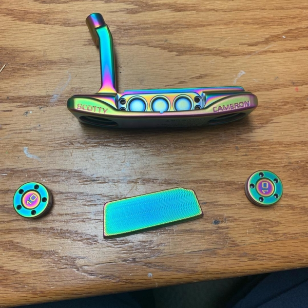 Rainbow Chameleon PVD